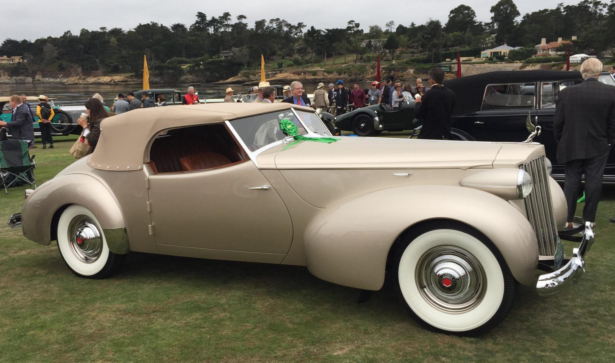 1939 Packard 1703 Super-8 Darrin Convertible Victoria | The Milwaukee Masterpiece
