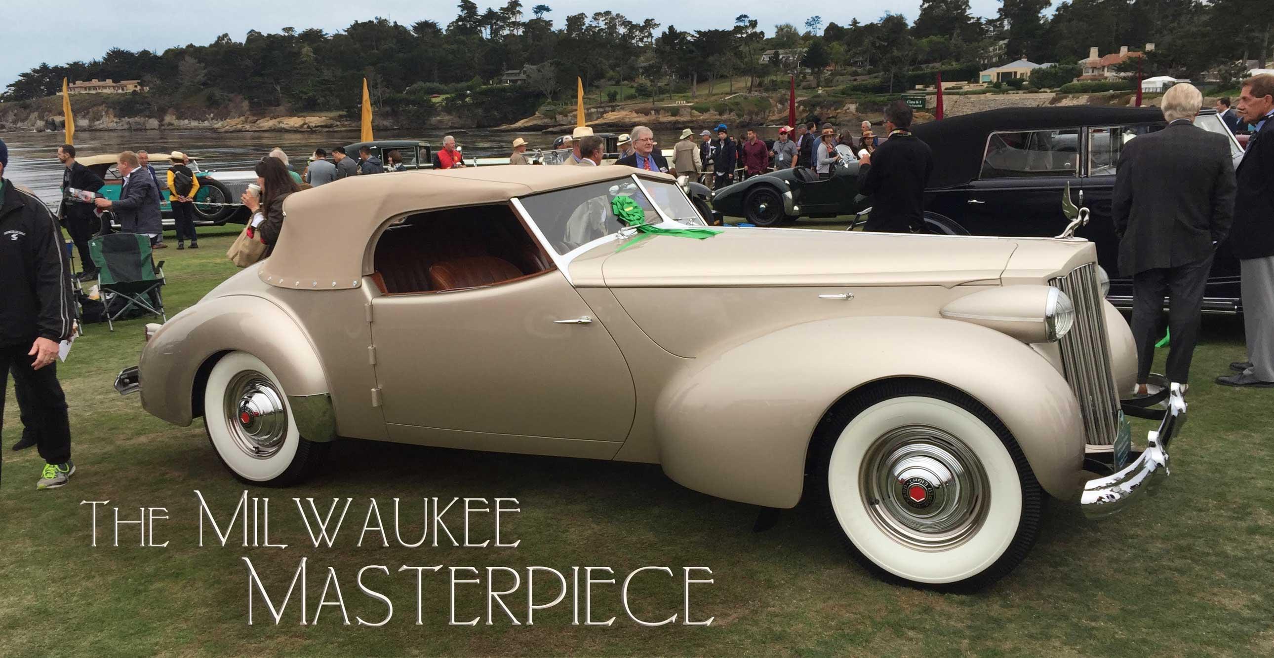 1939 Packard 1703 Super-8 Darrin Convertible Victoria | Pebble Beach Winner | The Milwaukee Masterpiece